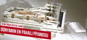 Dünyanın En Pahalı Piyanoları hangileridir? Dünyanın, En Pahalı Birinci  Piyanosu Kristal Piyano