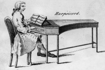 Harpsichord Musical İnstrument Johann Sebastian Bach Beste yaptığı için kuyruklu tarihi eski Hepsikord Tarihi İlk Piyanolar Atası, Piyanonun gelişimi Piyano