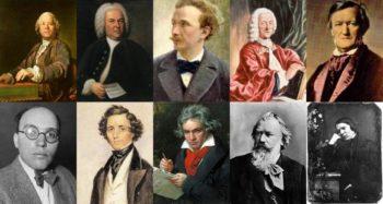 ünlü Klasik batı müziği bestecileri