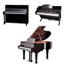 Temel Piyano Çeşitleri, Ana Piyano Grupları