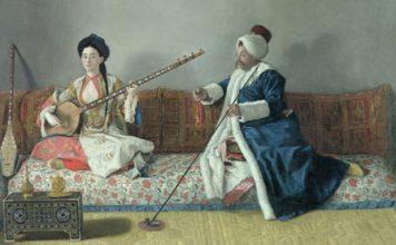 Osmanlı Müziği Tarihi Klasik Türk Musiki Kimdir Beste Müzisyen İstanbul Resim Ottoman Empire Görsel Tablo Müzik