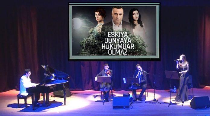 Dizi Film Jenerik Müzik Şarkı EŞKIYA DÜNYAYA Hükümdar Olmaz, Piyano Ney Keman, Nostalji Türkü-Şarkı